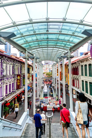 enclave: Singapore Chinatown Enclave