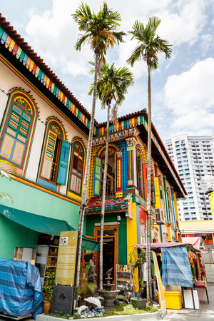 teng: The colorful house of Tan Teng Niah in Singapores Little India. The history of this eightroom Chinese villa goes back to 1900 when Tan Teng Niah who was one of few prominent Chinese businessmen in Little India built it for his wife. This building is the