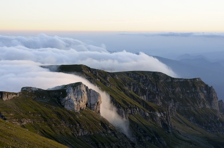 Over the clouds - Carpathian Mountains - Prahova valley