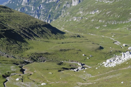 Beautiful valley in the Carpathian Mountains - Prahova valley