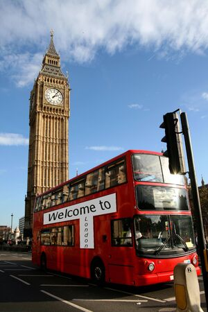 double decker: welcome to london, double decker, big ben