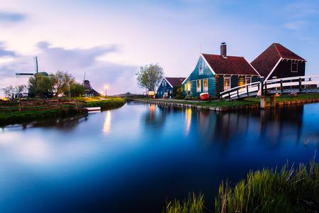 Zaanse Schans, Netherlands, Europe Stock Photo