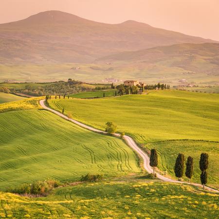 Pienza, Val dOrcia, Tuscany