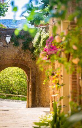 Pienza, Tuscany, Italy Imagens
