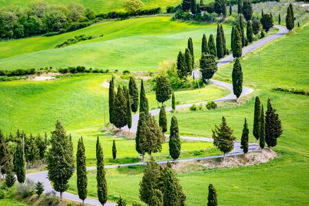 Crete Senesi, Tuscany, Italy.