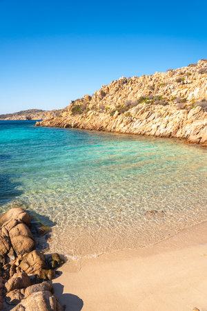 Cala Coticcio, wonderful bay in La Maddalena, Sardinia, Italy