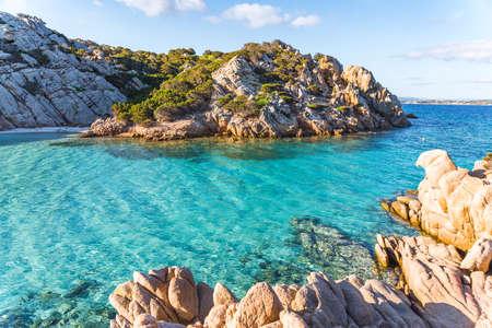 Cala Napoletana, wonderful bay in La Maddalena Archipelago, Sardinia, Italy. High quality photo