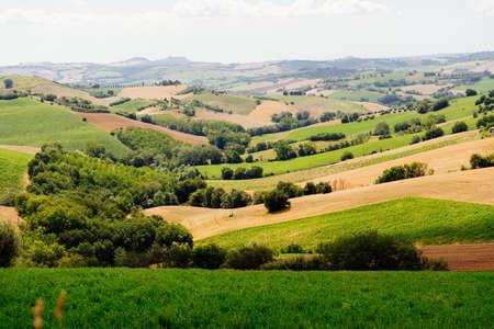 Marche Region, Italy. Rural landscape