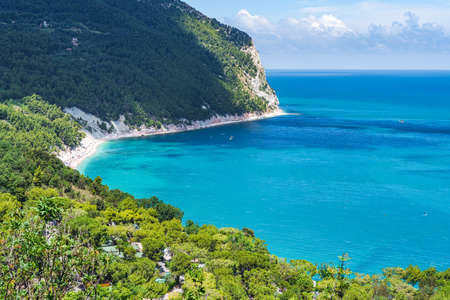 Marche Region. Conero seascape, Sirolo, Italy