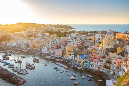 Procida Island, Naples, Campania, Italy.