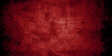 Dark maroon shabby walls. Scary cement texture