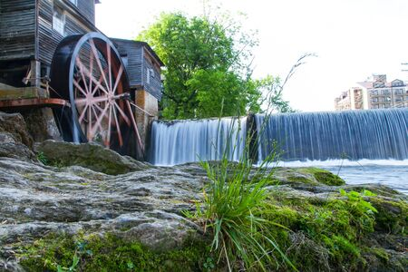 Beautiful landscape of Old Mill in Pigeon Forge - Smoky Mountains area ,Tennessee USA.