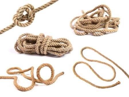 mooring: Variety of rope