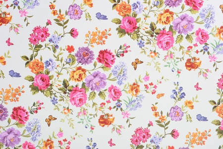 baroque background: floral background