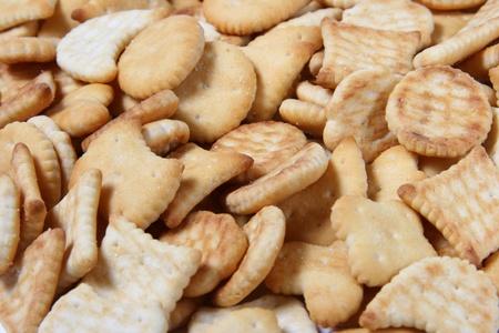 cooky: salty crackers