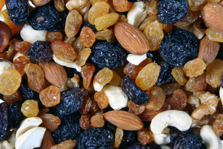 ground nuts: Musli - Mixed nuts, raisins and dried fruit