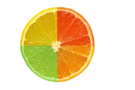 Assorted fruit slice photo