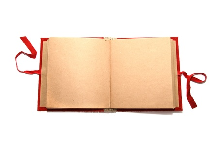 photo album book: Blank album Stock Photo