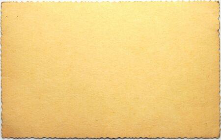 Blank cardboard photo