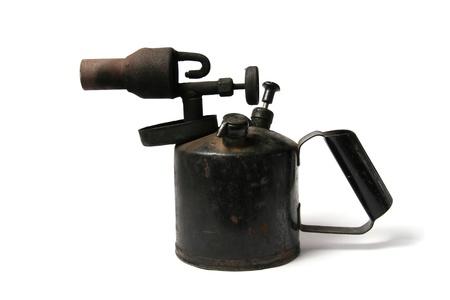 gas lamp: blowlamp