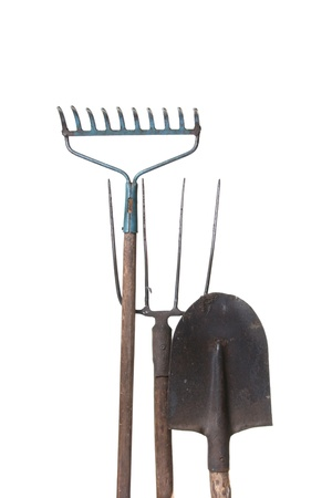 garden tool: Gardening equipment Stock Photo