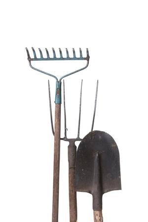 garden tools: Gardening equipment Stock Photo