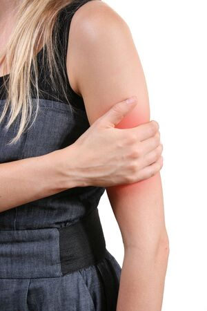 body wound: arm pain