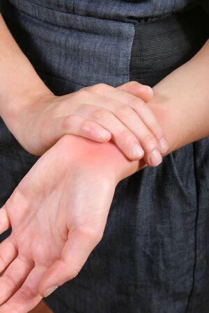 body wound: Joint ache