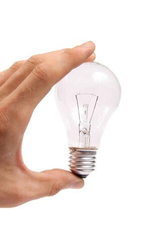 glower: light bulb Stock Photo