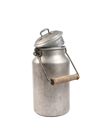 retro bottle: Retro milk can