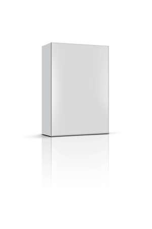 product box: prodotto casella vuota