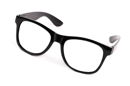 black frame glasses Stock Photo - 13985589