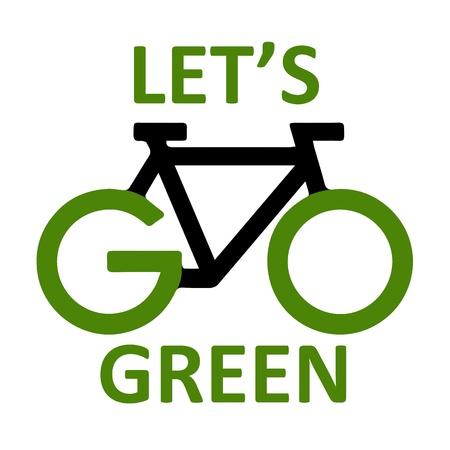 save environment: go green Stock Photo