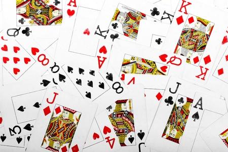jeu de cartes: jouer cartes d'arri�re-plan