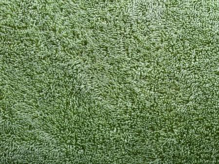 carpet texture: texture of green terry towel