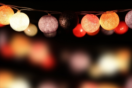 colorful light bulbs photo