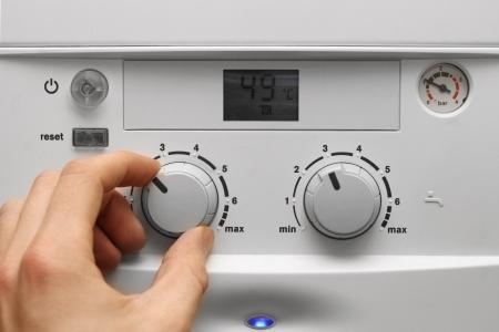 casa caldaia per il riscaldamento