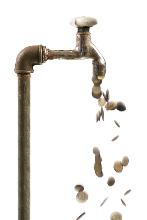 make an investment: water waste concept