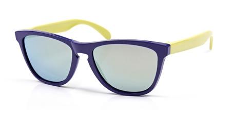 sunglasses isolated: colorful sunglasses isolated on white Stock Photo