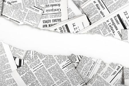 古い新聞をリッピング