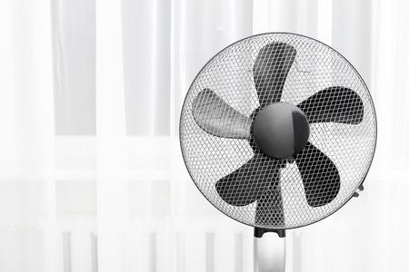 electric fan in the room Stockfoto