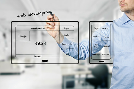 content management: website and mobile app development