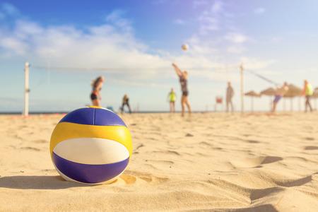 beach volleyball Stockfoto