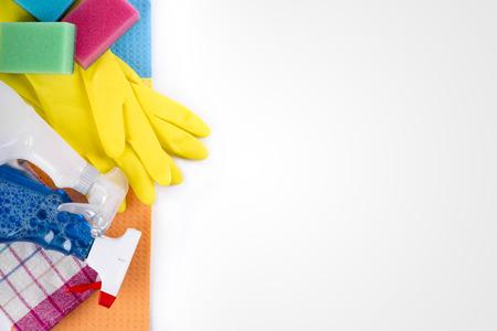 Reinigung Service-Produkte und Geräte mit Kopie Raum