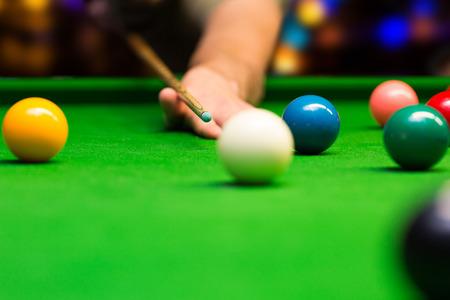 billiard: bar games - snooker