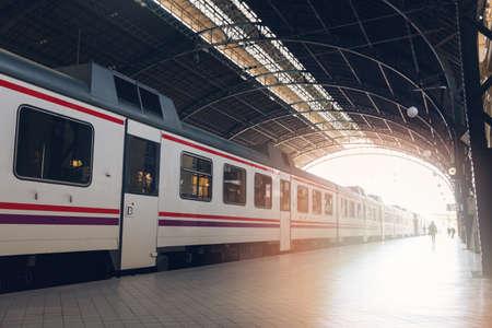 railway transport: North railway station in Valencia, Spain