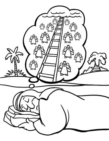 Jacob's Dream of the Ladder to Heaven