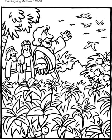 Coloring Page Do Not Worry