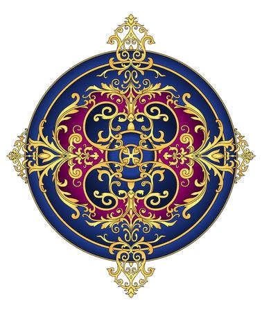 Eastern ornament vector