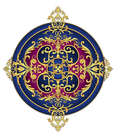 Oost-ornament vector